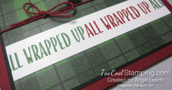 Jolly friends elf - green plaid 3