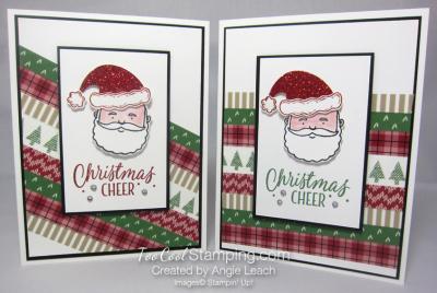 Jolly santa cheer - two cool