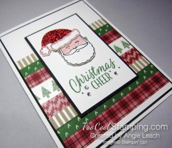Jolly santa cheer - stripes 2