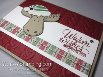 Jolly Friends moose - cherry 4