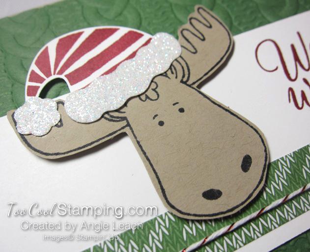 Jolly Friends moose - green 2