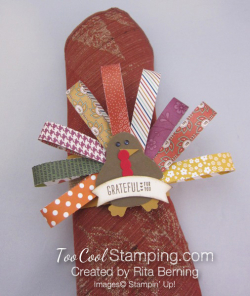 Ritas turkey napkin ring 1