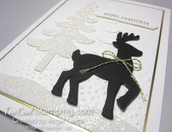 Dazzling reindeer silhouette - tall 4
