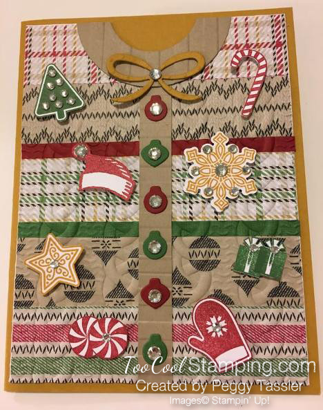 #1 - Peggy's Ugly Sweater Card