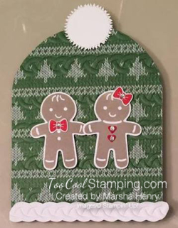 #4 - Marsha's Ugly Sweater Card 2