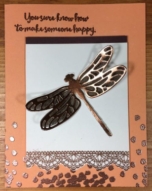 Dragonfly Dreams Copper Accents - Sharon Armstrong