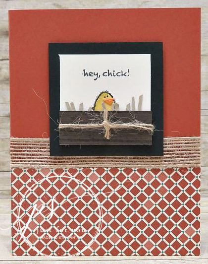 Hey Chick Peeking - lisa curcio