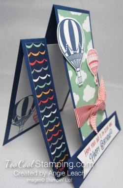 Lift Me Up Multi Panel cards - cloud nine 4