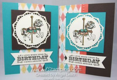 Carousel birthday diamonds - two cool