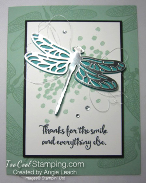 Dragonfly Dreams Silver Die-Cut 2