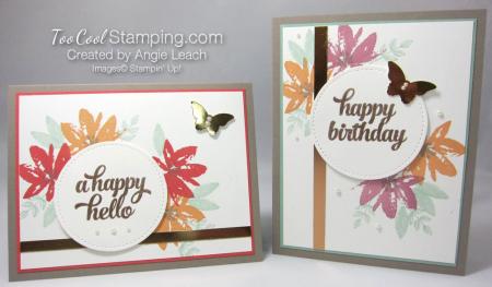 Avant garden copper birthday - two cool