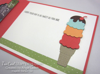 Cool Treats Cone Gift Card Holder - watermelon 3