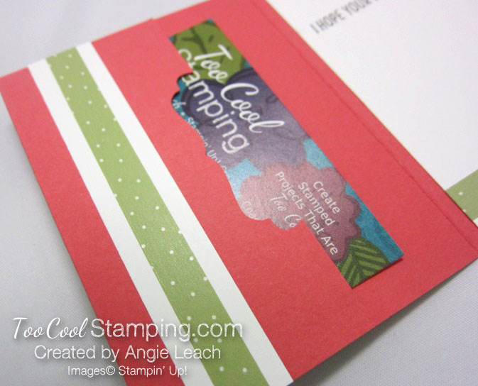 Cool Treats Cone Gift Card Holder - watermelon 4