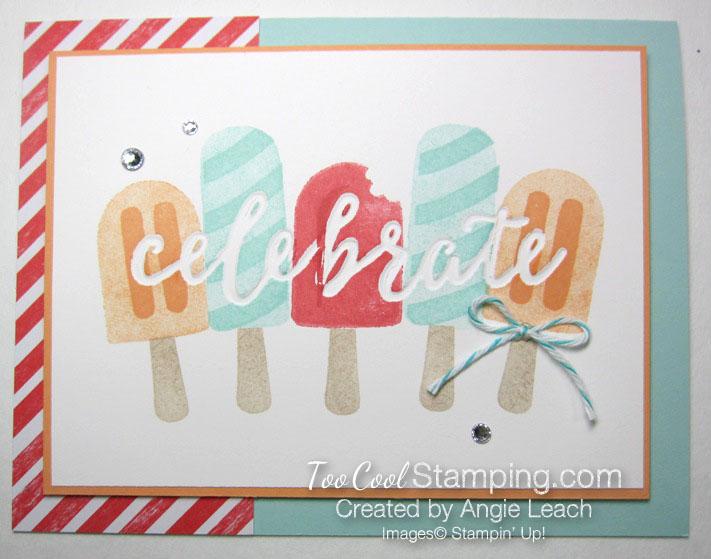 Cool Treats Celebrate - stripes
