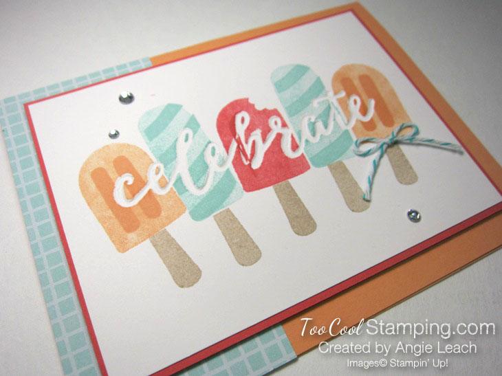 Cool Treats Celebrate - checks 3