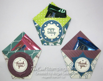 Eastern palace treat pouch - trio