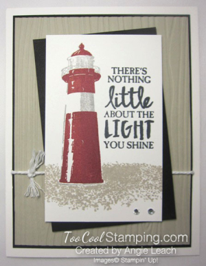 High Tide Light You Shine - white