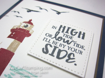 High Tide By Your Side - navy 3