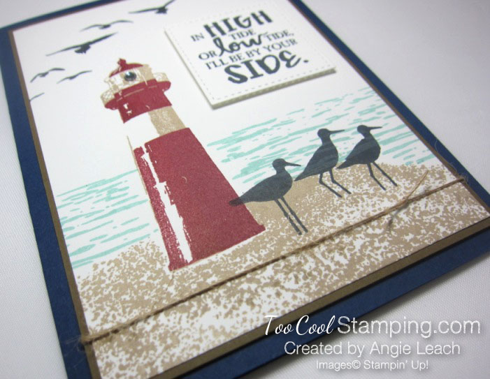 High Tide By Your Side - navy 2