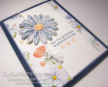 Daisy delight thank you - navy 2