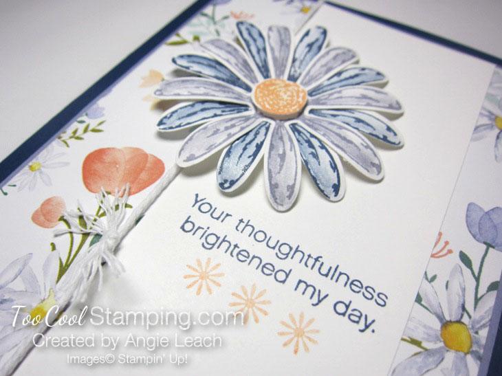 Daisy delight thank you - navy 3