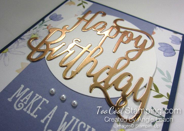 Happy birthday make a wish - wisteria 4