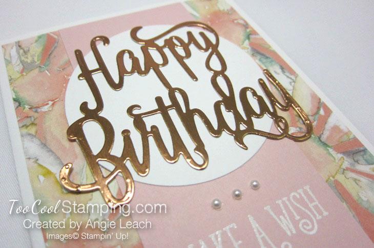 Happy birthday make a wish - powder 3