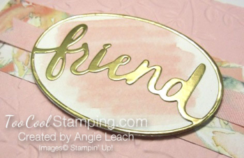 Powder pink - friend layered leaves 3