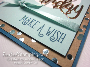 Happy birthday gorgeous copper foil - pool 3