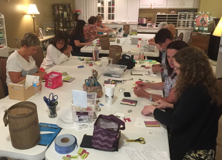 June stamp & share - team at work