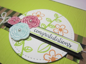Happy birthday gorgeous planks floral - congratulations 3