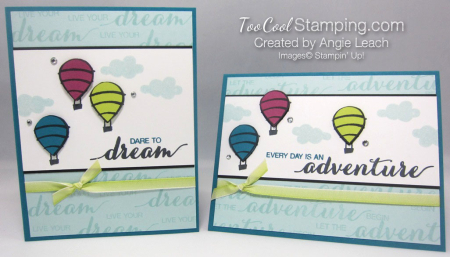 Dare To Dream Balloon trio - two cool