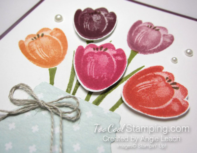 Tranquil tulips - jar 3