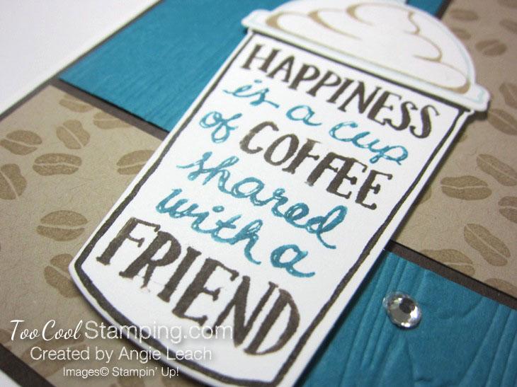 Coffee Cafe 4 Block Mocha - indigo 4