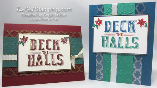 Carols of Christmas Metallic Accents - two cool