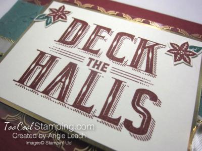 Carols of Christmas Metallic Accents - cherry gold 3