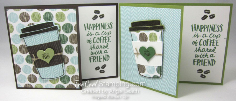 Coffee Cafe share a cup - two cool