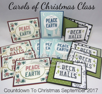 CTC Sept - Carols of Christmas cards ensemble banner