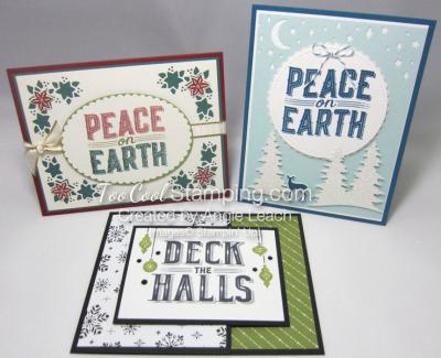 CTC Sept - Carols of Christmas cards trio