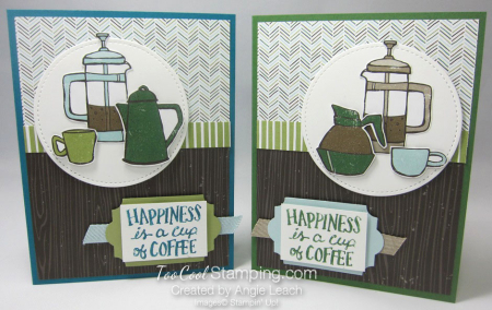 Coffee Cafe coffee pots - two cool