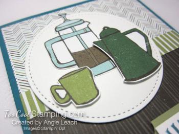 Coffee Cafe coffee pots - indigo 4