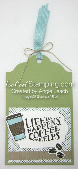 Coffee Cafe Life Happens Gift Card Holders - pear