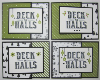 Carols of Christmas Deck The Halls Joy - 4 cool