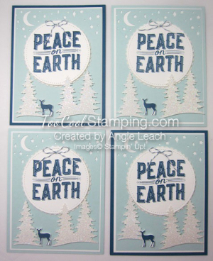 Carols of Christmas Peace on Earth Dazzling - 4 cool