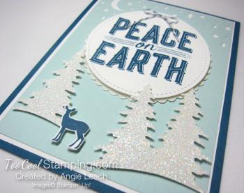 Carols of Christmas Peace on Earth Dazzling - indigo 2