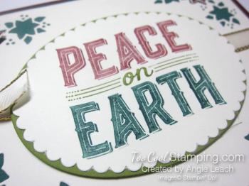 Carols of Christmas Poinsettias - peace markers 2