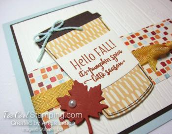 Merry Cafe Hello Fall Card - sky 3