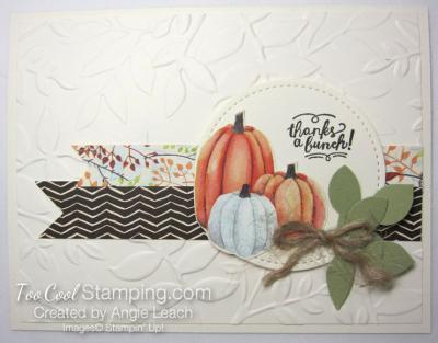 Pumpkin Harvest - thanks a bunch