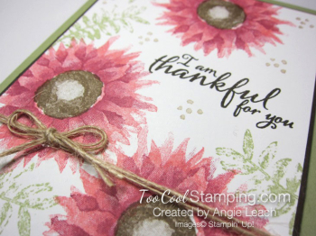 Painted harvest thankful cards - pink 3