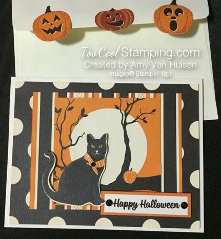 Amy spooky cat - halloween cat 1